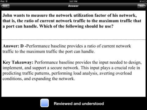CompTIA Security+ SY0-201 Test Prep iPad Screenshot 3