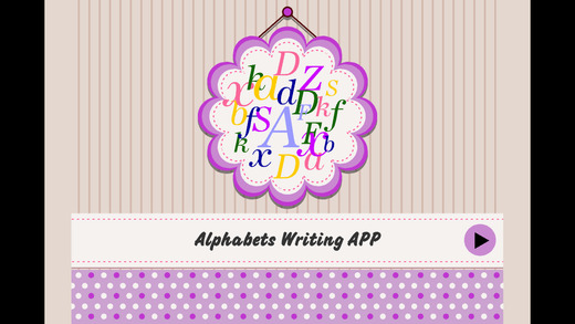 Kids Learn Write The Alphabet - ABC