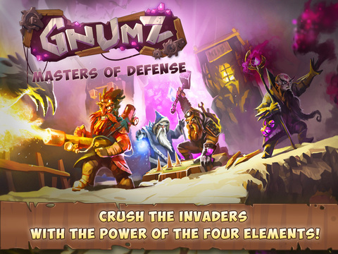 Gnumz: Masters of Defense HD TD Screenshots