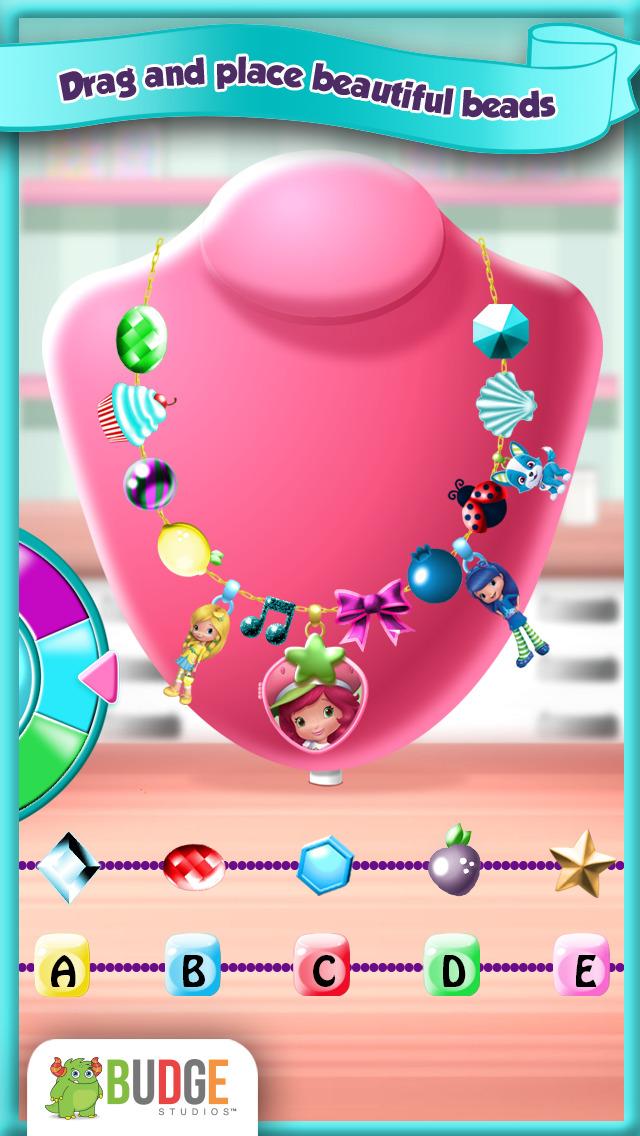 App shopper strawberry shortcake pocket lockets jewelry for Strawberry shortcake necklace jewelry