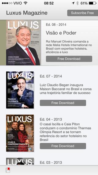 Luxus Magazine