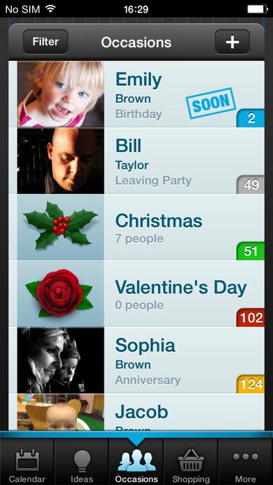 Gift Plan iPhone Screenshot 1