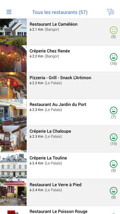 Belle-île Tour iPhone Screenshot 3
