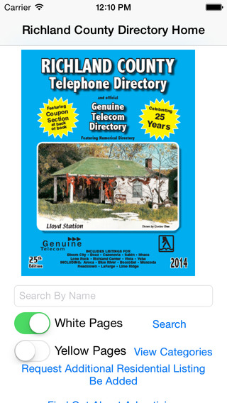 Richland County Telephone Directory