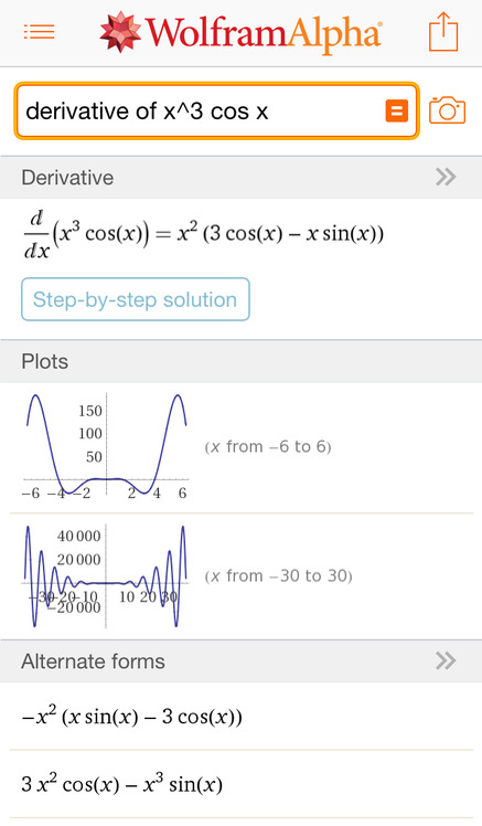 WolframAlpha - iPhone Mobile Analytics and App Store Data