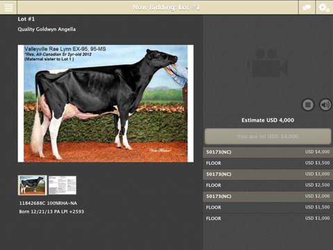 Cowbuyer Live Bidding App
