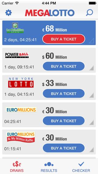 Mega Lotto – Lottery numbers
