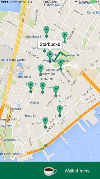 Cafe Walking for Starbucks