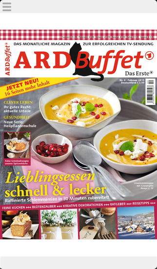 ARD Buffet Magazin