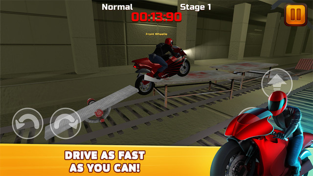 Subway Moto Escape 3D