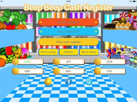 Beep Beep Cash Register
