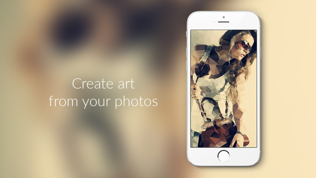 Trigraphy - Generate art from your photos