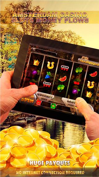 Amsterdam Casino Slots Money Flows - FREE Slot Game Vegas Casino