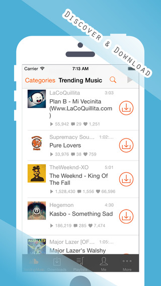 SCDown Pro - Free Music Downloader Player for SoundCloud
