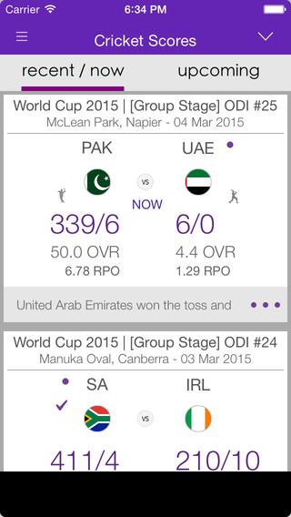 Cricket LIVE Scores Cricitch
