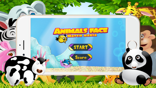 Animals Half Face for kids
