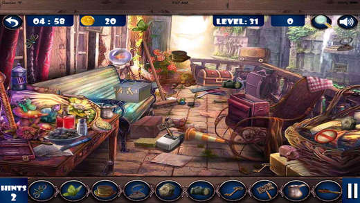 Hidden objects: the book of 100 mystery story