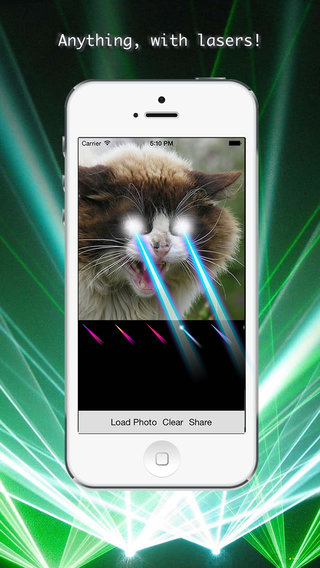 With Lasers - Add cool 'With Lasers' effects to your photos
