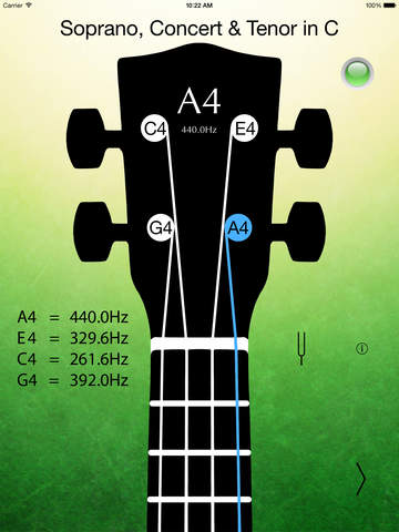 Always play the right note with Ukulele Tuner Pro Image