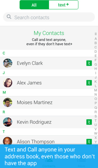textPlus Free Text + Calls : Free Texting + Free Phone Calling + Free International Messenger