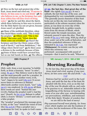 PocketBible Bible Study App screenshot