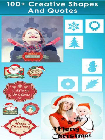 Santa Clause Photo Editor - Merry Christmas stickers & Meme  Booth for Xmas Pics Screenshot 3