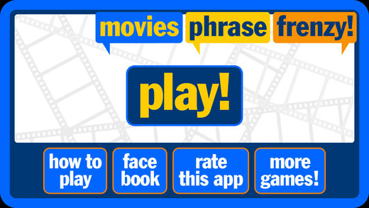 Phrase Frenzy - Movies Edition