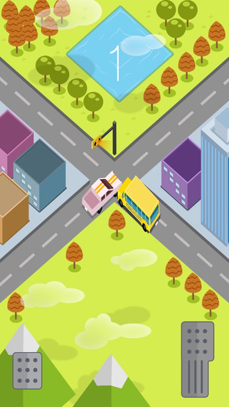 Beware School Bus Traffic Madness