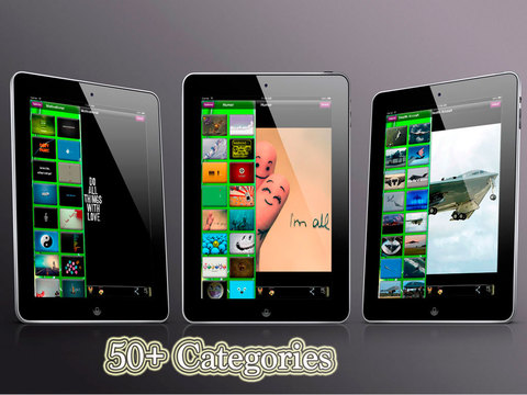 Dreamy Wallpapers iPad Screenshot 4