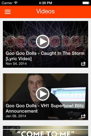Goo Goo Dolls screenshot 4
