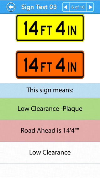 Motorcycle Permit Test iPhone Screenshot 4