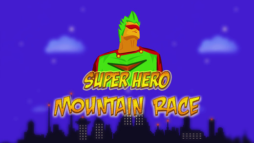 Super Hero Mountain Race - best road racing arcade game