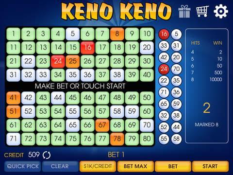 Free keno casino bonus casino code deposit free no