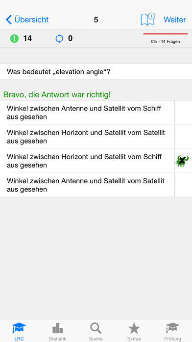 Funkschein LRC iPhone Screenshot 1
