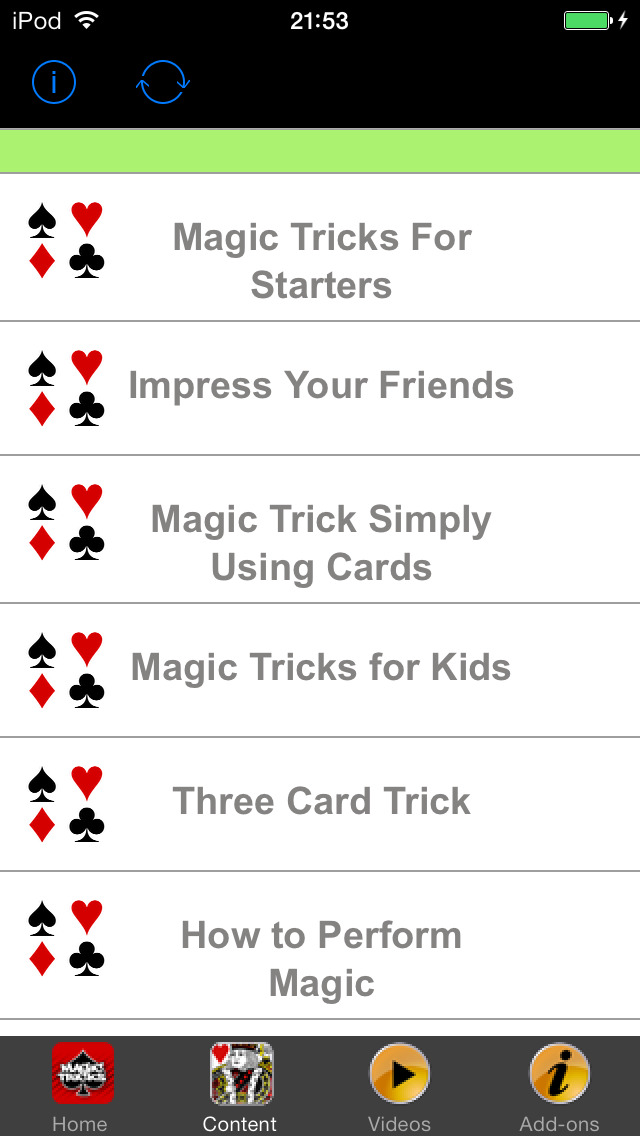 App Shopper: Awesome Card Tricks - Easy Magic Tricks for ...