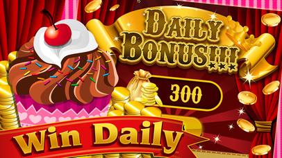Screenshot 3 Сладкий Chocoholic кексы Восторг в Bakery города — Казино Вегас слоты игры