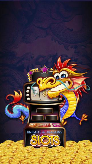 Knights Dragons Slots Pro