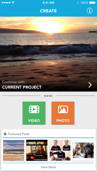 Square Video for Instagram & Vine Screenshots
