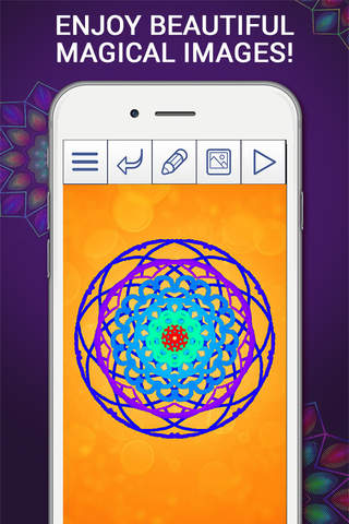Magic Kaleidoscope Pro – It's A Wonderful World screenshot 3