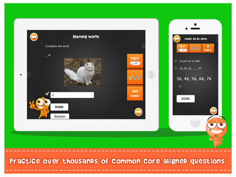iTooch 1st Grade | Math and Language Arts Screenshots