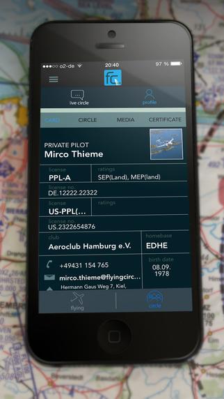 Flying Circle - your pilot network Screenshots