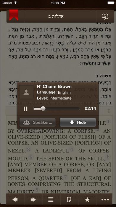 iMishna iPhone Screenshot 5