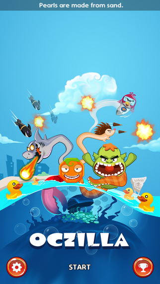 Oczilla: Legend of The Mutant Octopus Hero TD FREE