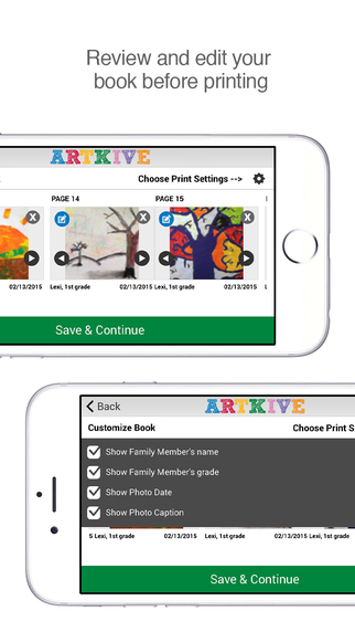 Artkive - Save Kids' Art Screenshots