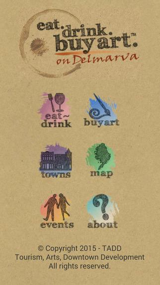 Eat Drink Buy Art