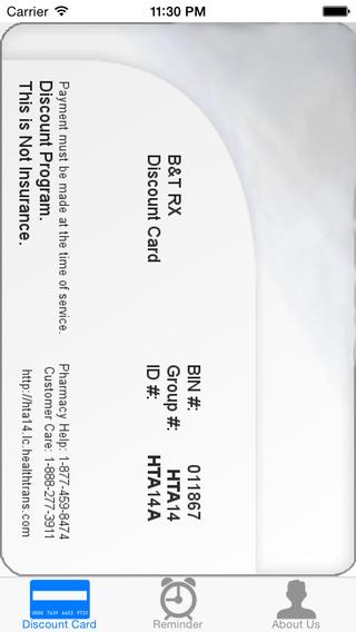 Discount Prescription Rx Card