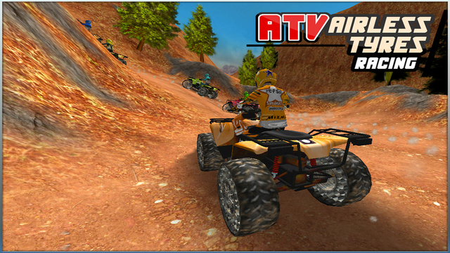 ATV Airless Tyres Racing