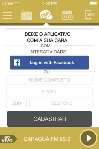 Caraguá FM, 89.5 screenshot 2