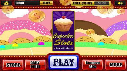 Screenshot 3 Слоты Машины спин-Win Fun кексы в Доме Las Vegas Казино игры Pro