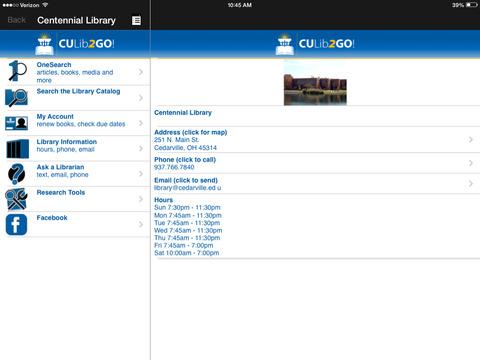 CULib2Go! iPad Screenshot 4